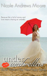 under umbrellas love kissed branded cover