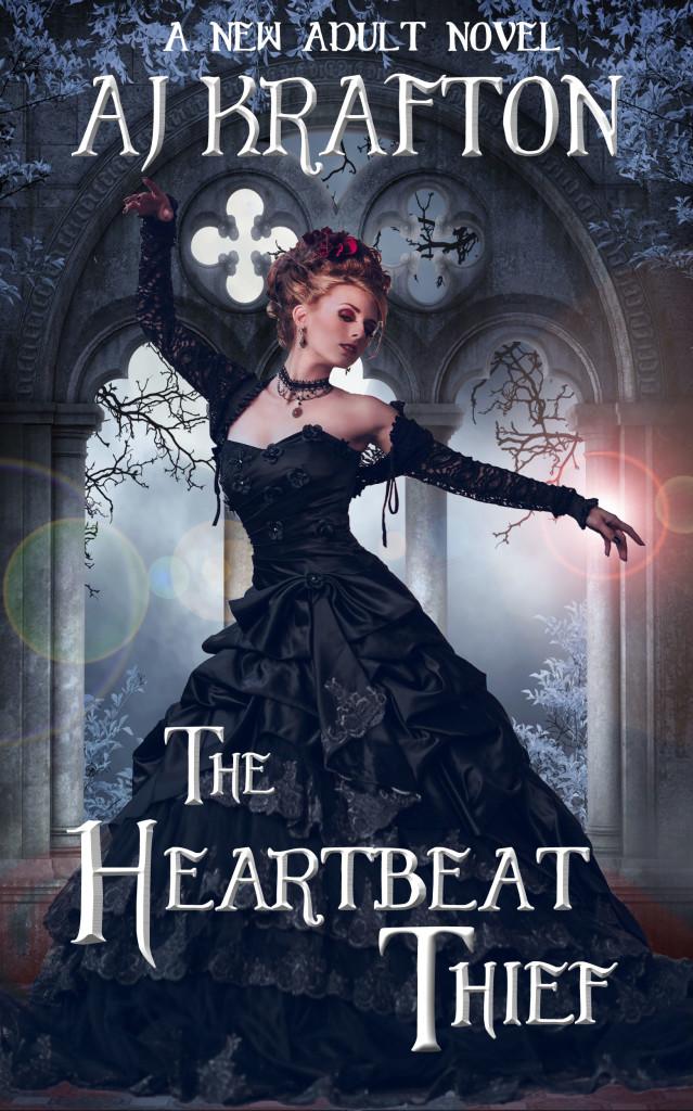 The Heartbeat Thief_AJ Krafton_Kindle cover